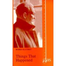 Things That Happened by Boris Slutsky, 9781566632355