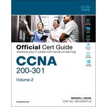 CCNA 200-301 Official Cert Guide, Volume 2, 1/e by Brad Edgeworth, 9781587147135