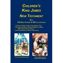 Children's King James Bible, New Testament by Peter Palmer, 9781589604148