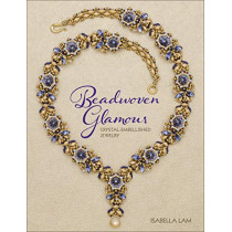 Beadwoven Glamour: Crystal-embellished jewelry by Isabella Lam, 9781627005654