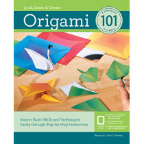 Origami 101: Master Basic Skills and Techniques Easily Through Step-by-Step Instruction by Benjamin Coleman, 9781631596551