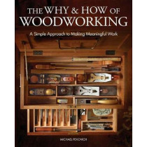 The Why & How of Woodworking: A Simple Approach to Making Meaningful Work by Michael Pekovich, 9781631869273