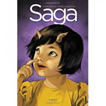 Saga Book Two by Fiona Staples, 9781632159038