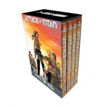Attack On Titan Season 1 Part 1 Manga Box Set by Hajime Isayama, 9781632366993