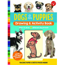 Dogs & Puppies Drawing & Activity Book: Learn to draw 17 different dog breeds by Walter Foster Jr. Creative Team, 9781633226661