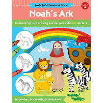 Watch Me Read and Draw: Noah's Ark: A step-by-step drawing & story book by Walter Foster Jr. Creative Team, 9781633227644