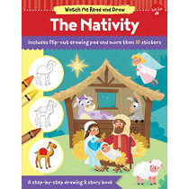 Watch Me Read and Draw: The Nativity: A step-by-step drawing & story book by Walter Foster Jr. Creative Team, 9781633227668