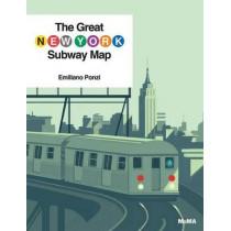 The Great New York Subway Map by Emiliano Ponzi, 9781633450257