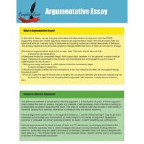 Argumentative Essay by Pamphlet Master, 9781634281843