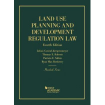 Land Use Planning and Development Regulation Law by Julian Juergensmeyer, 9781634593069