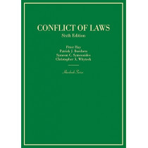 Conflict of Laws by Peter Hay, 9781634603324