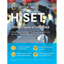 HISET 2019 Preparation Book: Study Guide and Practice Test Questions for the High School Equivalency Test by Trivium High School Exam Prep Team, 9781635303476
