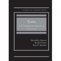 Torts, A Contemporary Approach by Meredith Duncan, 9781640200708