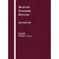 Selected Consumer Statutes, 2019 by Dee Dee Pridgen, 9781642423082