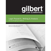 Gilbert Law Summary on Legal Research, Writing & Analysis by Peter Jan Honigsberg, 9781642426724