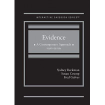 Evidence, A Contemporary Approach by Sydney Beckman, 9781642427646