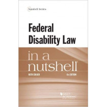 Federal Disability Law in a Nutshell by Ruth Colker, 9781642429114