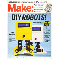 Make: Volume 55 by Mike Senese, 9781680453034