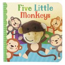 Five Little Monkeys by Sarah Ward, 9781680524376