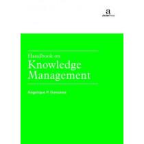 Handbook on Knowledge Management by Angelique P. Gonzalez, 9781680946086