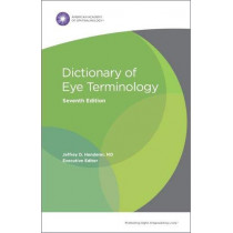 Dictionary of Eye Terminology by Jeffrey D. Henderer, 9781681042985