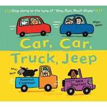 Car, Car, Truck, Jeep by Katrina Charman, 9781681198958