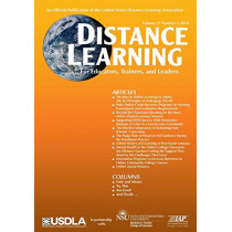Distance Learning Volume 13, Issue 2, 2016 by Michael Simonson, 9781681236315