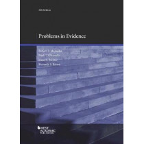 Problems in Evidence by Robert Mosteller, 9781683281849