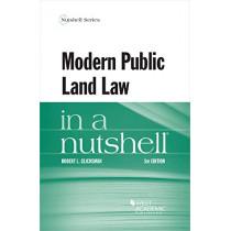 Modern Public Land Law in a Nutshell by Robert L. Glicksman, 9781683283577