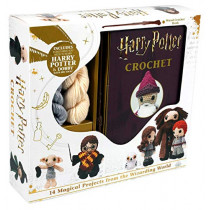 Harry Potter Crochet by Lucy Collin, 9781684128877