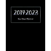 2019-2023 Five Year Planner: Calendar Monthly Planner Diary for 60 Months Planner by Paper Kate Publishing, 9781729437513