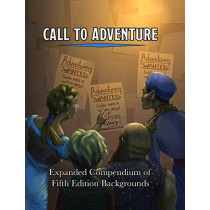 Call To Adventure: Expanded Compendium of Fifth Edition Backgrounds by Jerry Joe Seltzer, 9781733083003