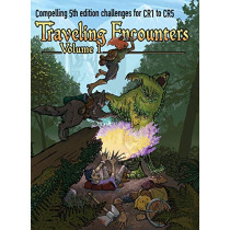 Traveling Encounters volume 1: Challenging encounters for CR 1 thru CR 5 by Jerry Joe Seltzer, 9781733083096