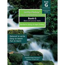 Getty-Dubay Italic Handwriting Series: Book G by Barbara Getty, 9781733435208