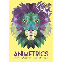 Animetrics: A Striking Geometric Sticker Challenge by Buster Books, 9781780554587