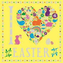 I Heart Easter by Jessie Eckel, 9781780555775