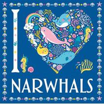 I Heart Narwhals by Jessie Eckel, 9781780556239