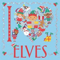 I Heart Elves by Jessie Eckel, 9781780556444