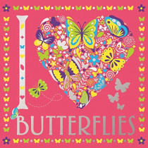 I Heart Butterflies by Felicity French, 9781780556772