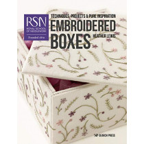 RSN: Embroidered Boxes: Techniques, Projects & Pure Inspiration by Heather Lewis, 9781782216520