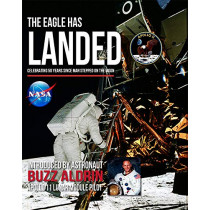 The Eagle Has Landed: Celebrating 50 Years since man stepped on The Moon by Peter Murray, 9781782814894