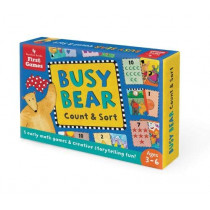 Busy Bear Count & Sort Game by Debbie Harter, 9781782854302
