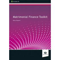 Matrimonial Finance Toolkit by Mena Ruparel, 9781784460907