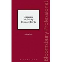Corporate Insolvency: Pension Rights by David Pollard, 9781784514716
