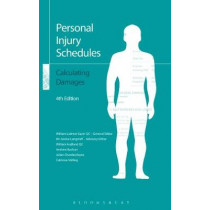 Personal Injury Schedules: Calculating Damages by William Latimer-Sayer, 9781784517267