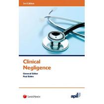 APIL Clinical Negligence by Paul Balen, 9781784733957