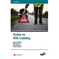 APIL Guide to RTA Liability by Andrew Ritchie, QC, 9781784733964
