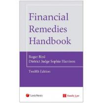 Financial Remedies Handbook 12th Edition by Roger Bird, 9781784734305