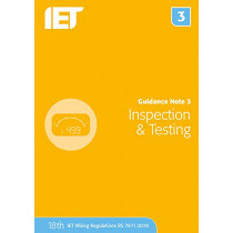 Guidance Note 3: Inspection & Testing by The Institution of Engineering and Technology, 9781785614521
