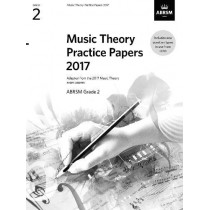 Music Theory Practice Papers 2017, ABRSM Grade 2 by ABRSM, 9781786010780